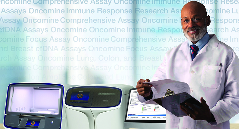 Multi-biomarker NGS assays from Life Technologies Clinical Services Lab
